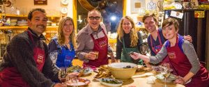 cooking class in taos with the Wynns